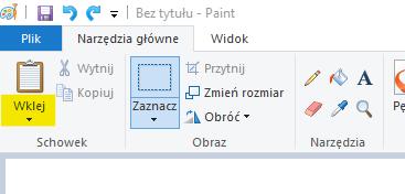 Paint - wklej